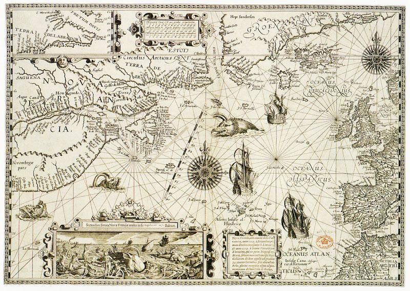 Гудзонский Залив Карта